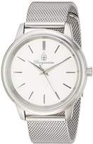 Burgmeister Women's Quartz Stainless Steel Casual Watch, Color:Silver-Toned (Model: BMS02-111)