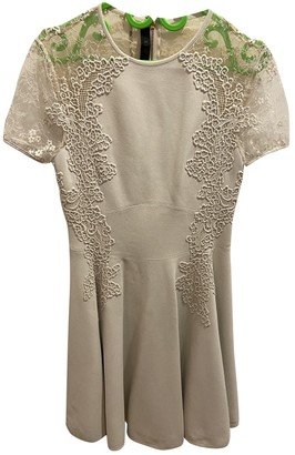 Elie Saab Beige Silk Dresses