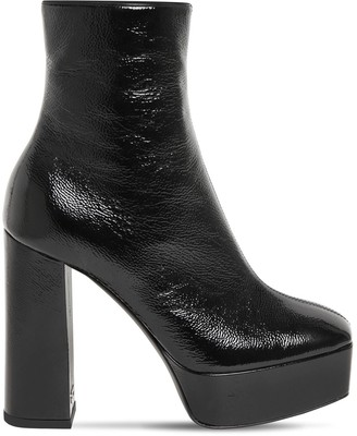 Giuseppe Zanotti 120mm Patent Leather Ankle Boots