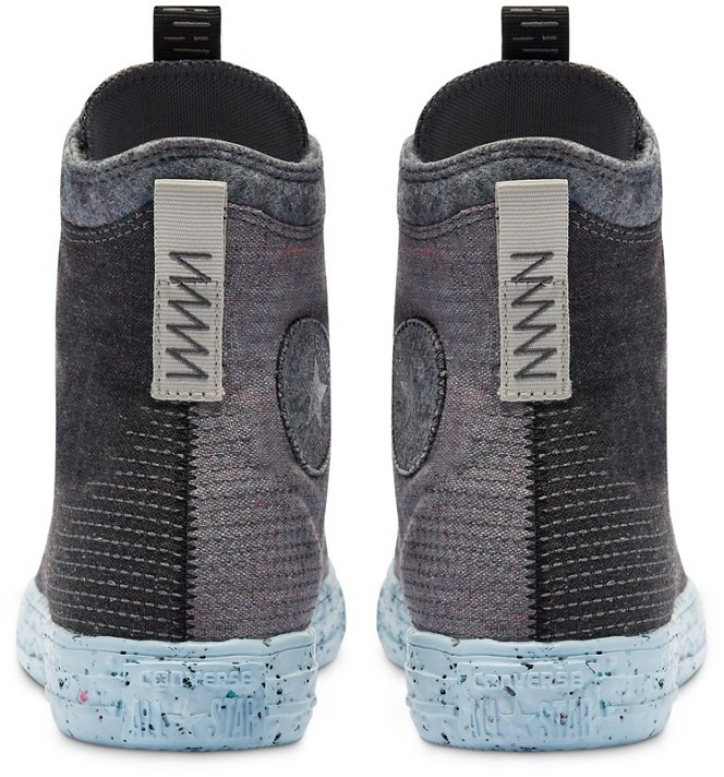 Thumbnail for your product : Converse Chuck Taylor All Star hi crater foam trainers in grey
