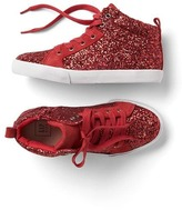 Gap Glitter hi-top sneakers