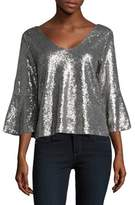 Highline Collective Sequined Flare Top