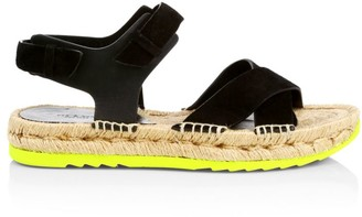 Rag & Bone Giza Leather Espadrille Sandals