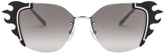 Prada Ornate Sunglasses