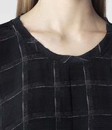 AllSaints Flannel Novah Top