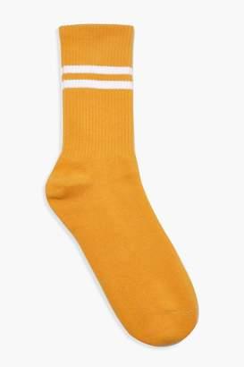 boohoo Sports Stripe Ankle Socks