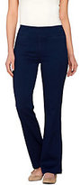 Denim & Co. As Is Active Regular Denim Yoga Pants with Front Pockets