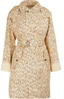 Chloé Printed trench coat
