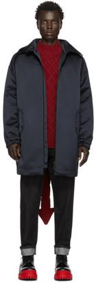 Valentino Navy Oversized Coat