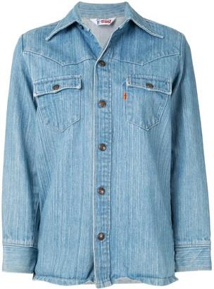 Fake Alpha Vintage 1970s Levis denim shirt