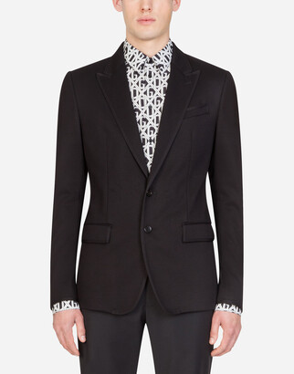 Dolce & Gabbana Stretch Jersey Jacket