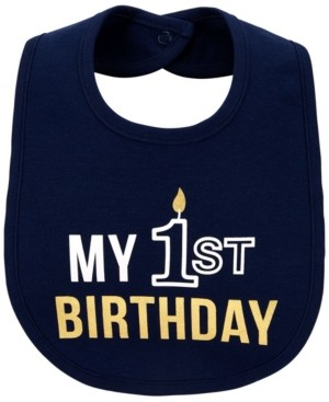 Carter's Baby Boy My 1st Birthday Teething Bib