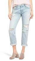 Current/Elliott Women's The Fling Destroyed Rolled Jeans