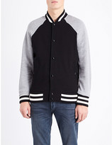 Rag & Bone Arden cotton-jersey varsity jacket