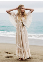Free People Womens ENCHANTED FOREST DRESS