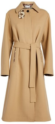 Chloé Wool-Cashmere Belted Coat