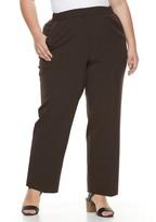 Croft & Barrow Plus Size Polished Pull-On Pants