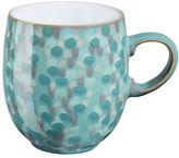 Denby Azure Shell Stoneware Large Curve Mug