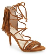 Jessica Simpson Women's 'Mareya' Fringe Ankle Tie Sandal