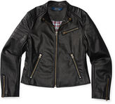 Ralph Lauren Faux-Leather Moto Jacket