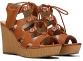 XOXO Women's Mercy Lace Up Wedge Sandal