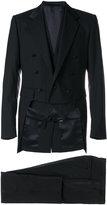 Dolce & Gabbana three piece dinner suit - men - Silk/Polyester/Spandex/Elastane/Virgin Wool - 50