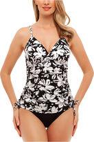 ST. JOHN'S BAY St. John's Bay Dotty Daisy Convertible Swim Dress