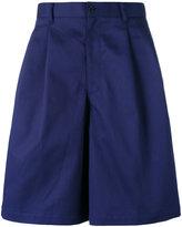 Comme des Garcons Dashield wide-legged shorts - men - Cotton - M