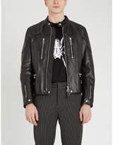 Lanvin Padded leather biker jacket