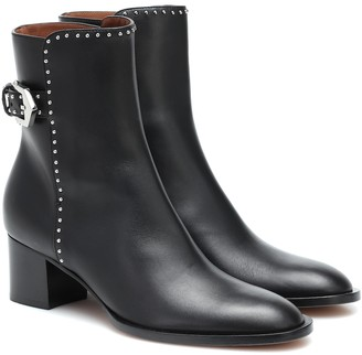 Givenchy Embellished leather ankles boots