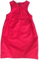 Miu Miu Red Silk Dress
