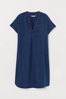 H&M Lyocell Tunic - Blue