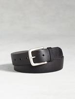John Varvatos Leather Textured Belt