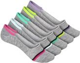 Steve Madden Athletic Footie Socks - 5-Pack, Below the Ankle (For Women)