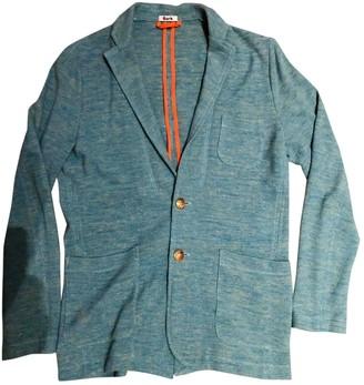 Bark Turquoise Linen Jackets