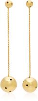 Paula Mendoza Viv 24K Gold-Plated Earrings