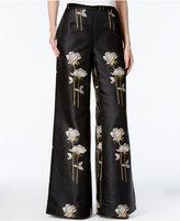 Rachel Roy Floral-Print Wide-Leg Pants, Only at Macy's
