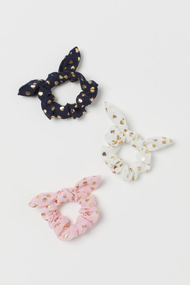 H&M 3-pack Scrunchies - Pink