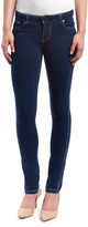 Indigo Contrast-Stitch Jeggings