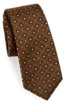 Kiton Square Print Silk Tie