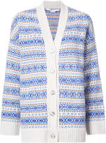 Stella McCartney Fairisle V-neck cardigan