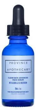 Province Apothecary Clear Skin Advanced Face Serum 30ml
