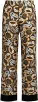 F.R.S - FOR RESTLESS SLEEPERS Etere bracelet-print silk pyjama trousers