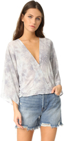 Blue Life Hayley Kimono Top