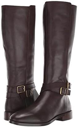 Aerosoles Martha Stewart Julia (Black Leather) Women's Boots