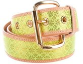 Vivienne Westwood Jacquard Leather Belt