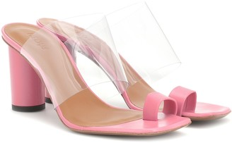 Neous Exclusive to Mytheresa a Chost leather sandals