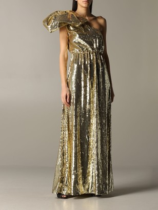 N°21 N deg; 21 Long Dress With Sequins
