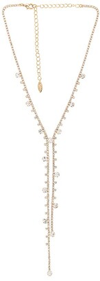 Ettika Crystal Lariat Necklace