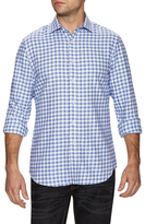 James Tattersall Woven Check Dress Shirt